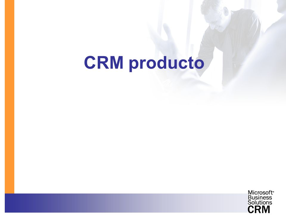 CRM producto