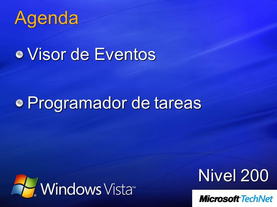 Agenda Visor de Eventos Programador de tareas Nivel 200