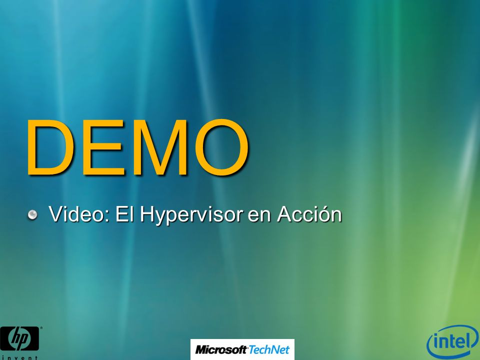 DEMO Video: El Hypervisor en Acción