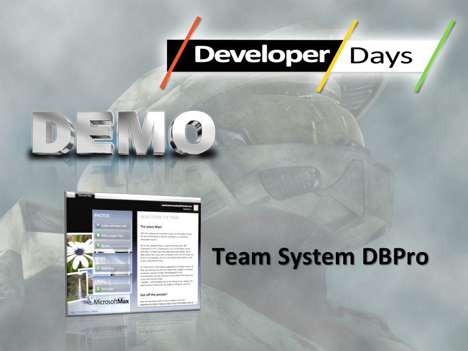 Team System DBPro 8
