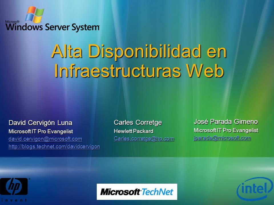 Alta Disponibilidad en Infraestructuras Web