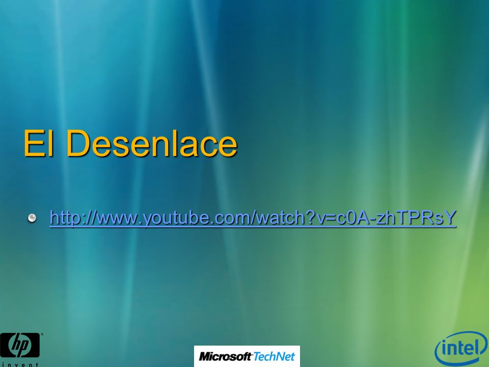 El Desenlace http://www.youtube.com/watch v=c0A-zhTPRsY