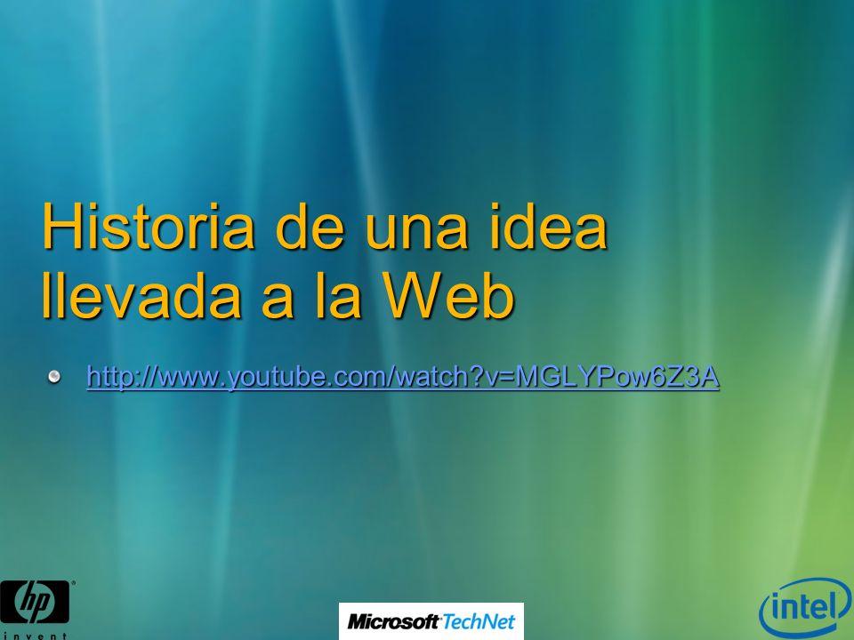 Historia de una idea llevada a la Web