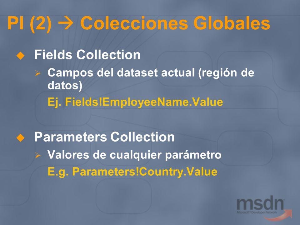 PI (2)  Colecciones Globales