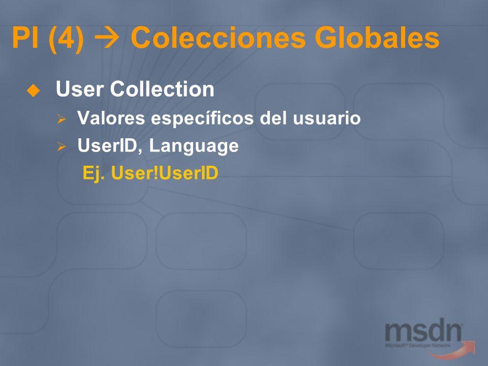 PI (4)  Colecciones Globales