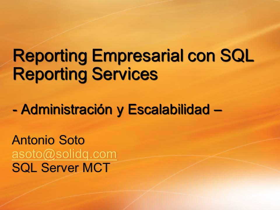 Antonio Soto asoto@solidq.com SQL Server MCT