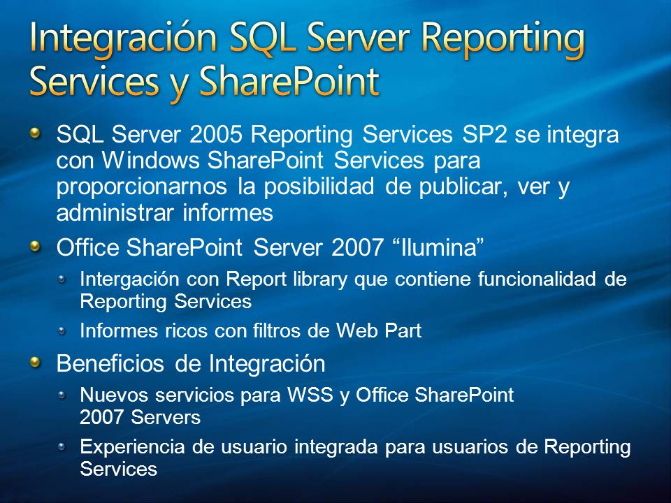 Office SharePoint Server 2007 Ilumina