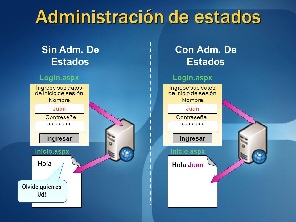 Administración de estados