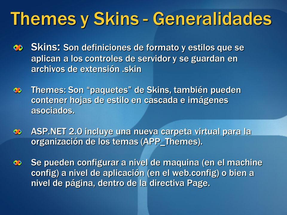 Themes y Skins - Generalidades