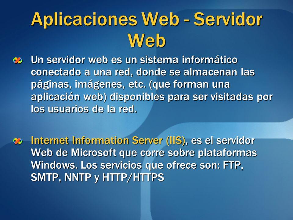 Aplicaciones Web - Servidor Web