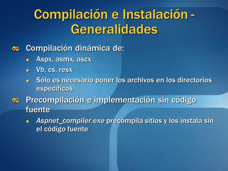 Compilación e Instalación -Generalidades