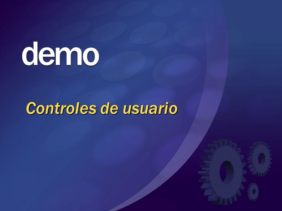 Controles de usuario © 2004 Microsoft Corporation. All rights reserved.