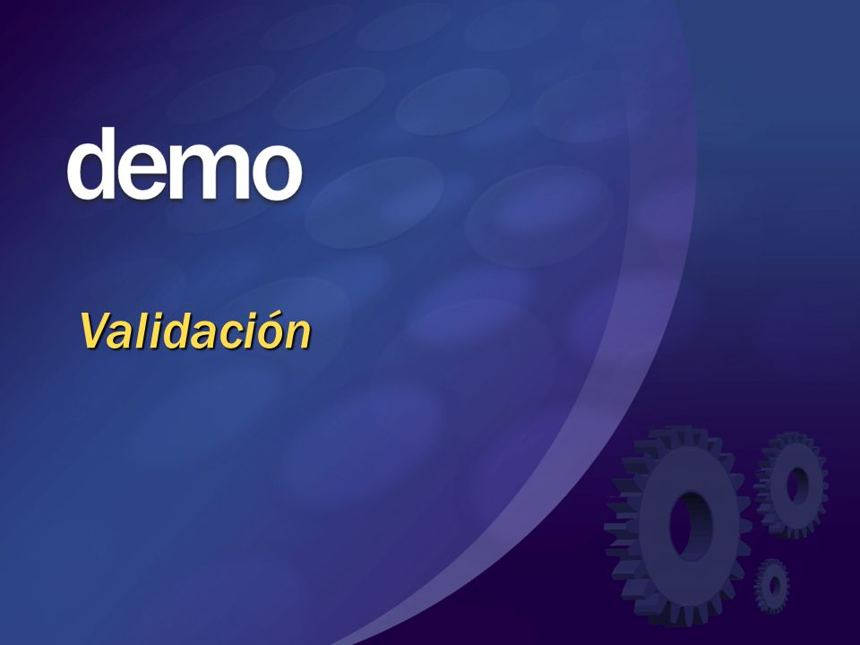 Validación © 2004 Microsoft Corporation. All rights reserved.