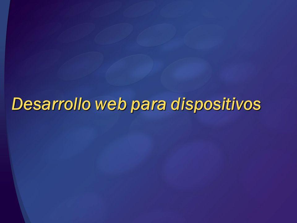 Desarrollo web para dispositivos