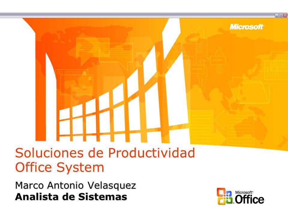 Soluciones de Productividad Office System