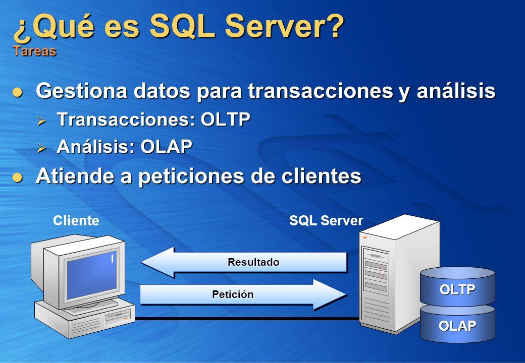 ¿Qué es SQL Server Tareas