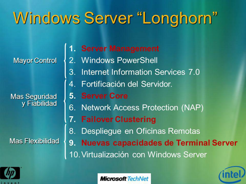 Windows Server Longhorn