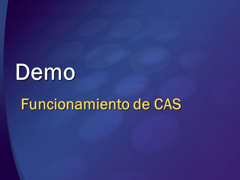 Demo Funcionamiento de CAS MGB 2003