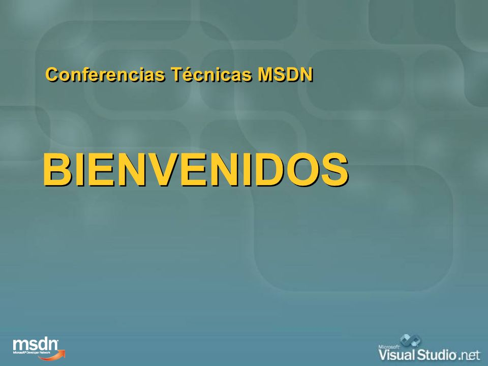 Conferencias Técnicas MSDN