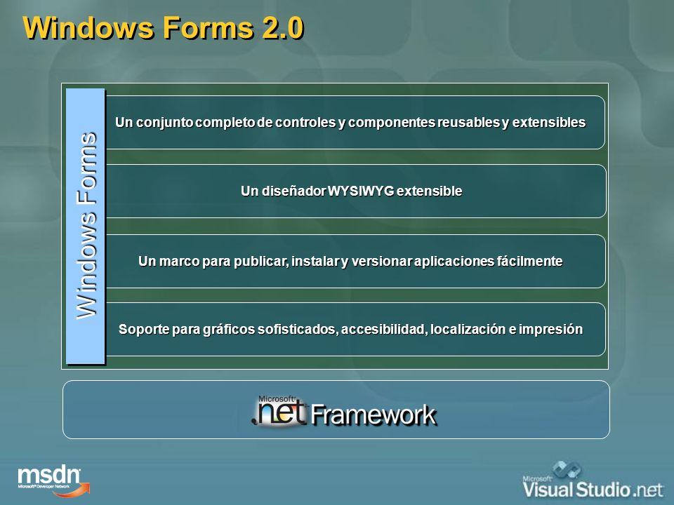 Windows Forms 2.0 Windows Forms