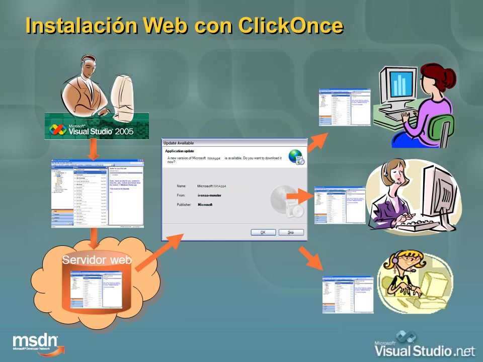 Instalación Web con ClickOnce