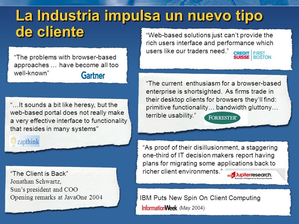 La Industria impulsa un nuevo tipo de cliente