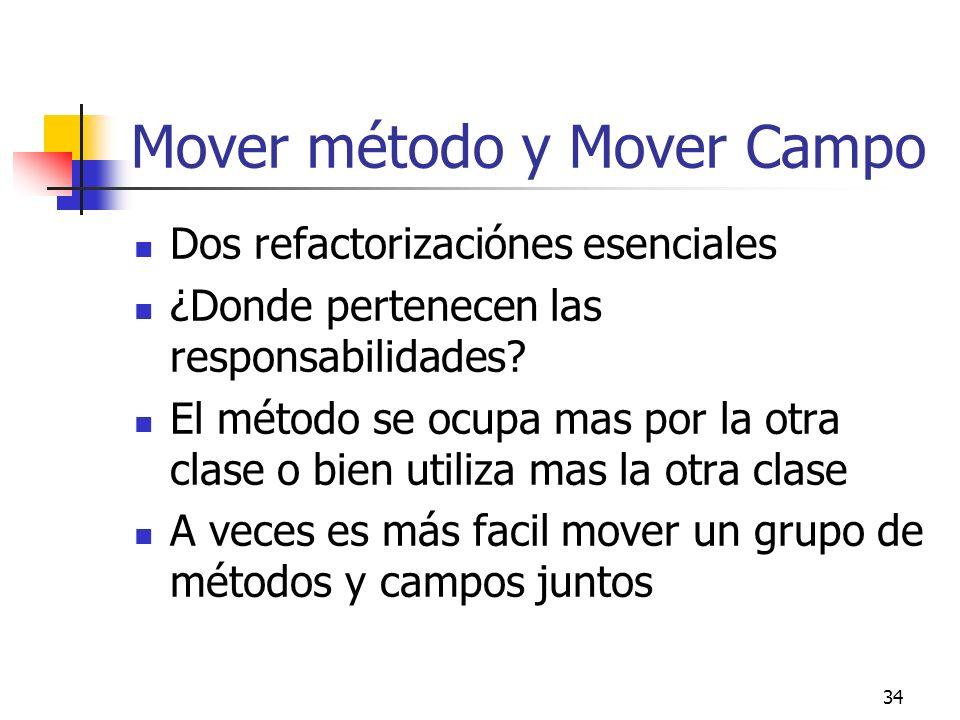 Mover método y Mover Campo