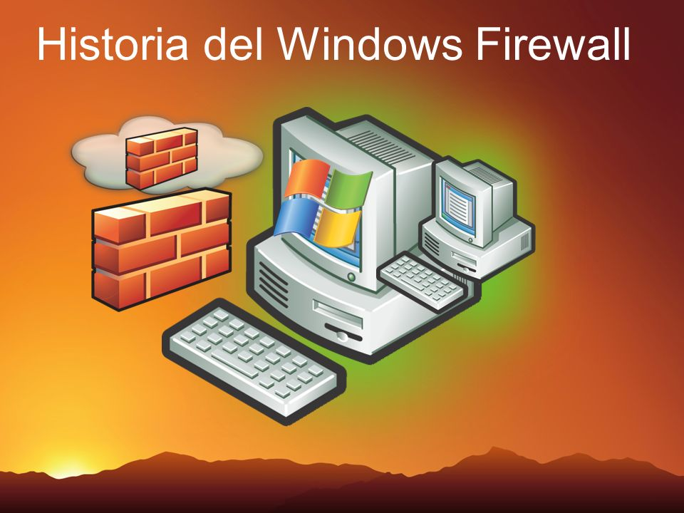 Historia del Windows Firewall