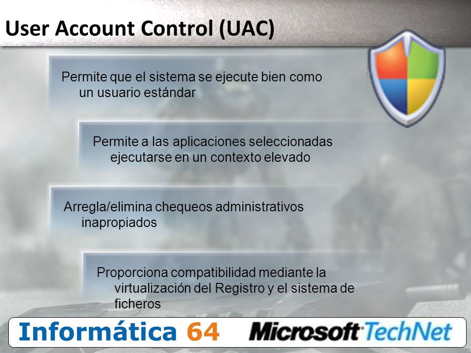 User Account Control (UAC)
