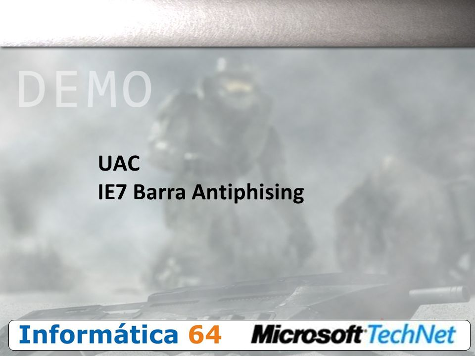 UAC IE7 Barra Antiphising