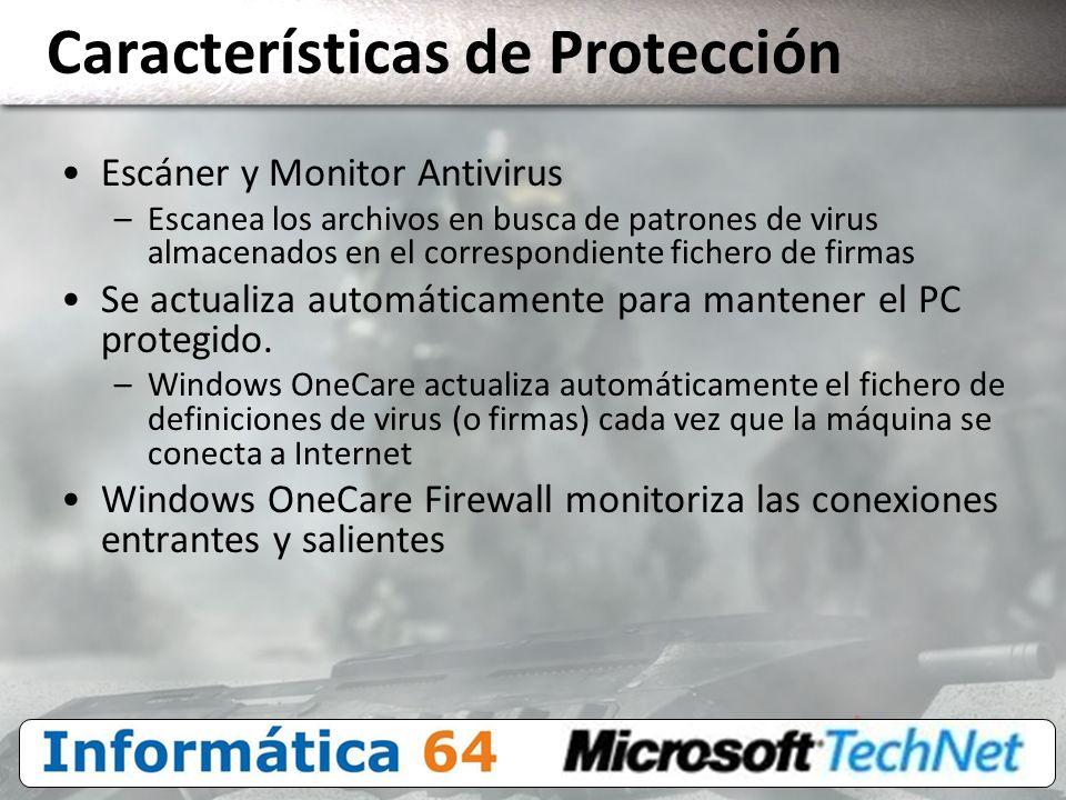 Características de Protección