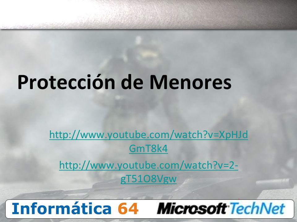 Protección de Menores http://www.youtube.com/watch v=XpHJdGmT8k4