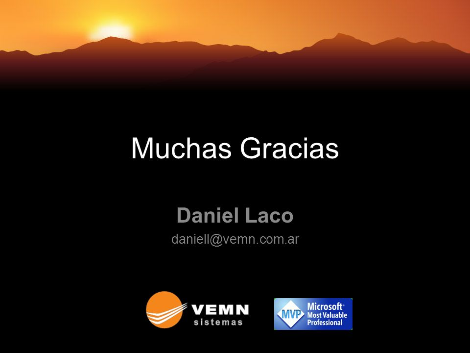 Daniel Laco daniell@vemn.com.ar