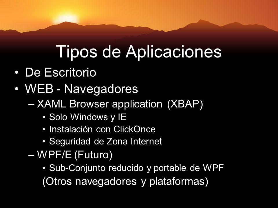 Tipos de Aplicaciones De Escritorio WEB - Navegadores