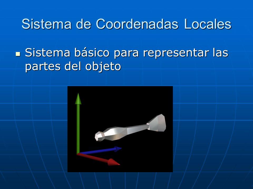 Sistema de Coordenadas Locales