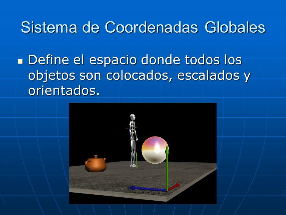 Sistema de Coordenadas Globales