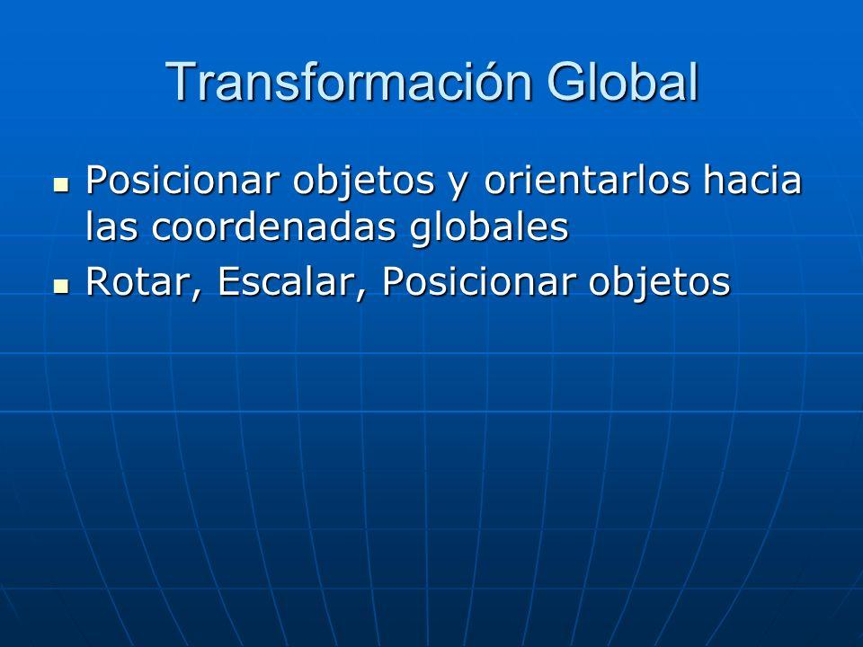 Transformación Global