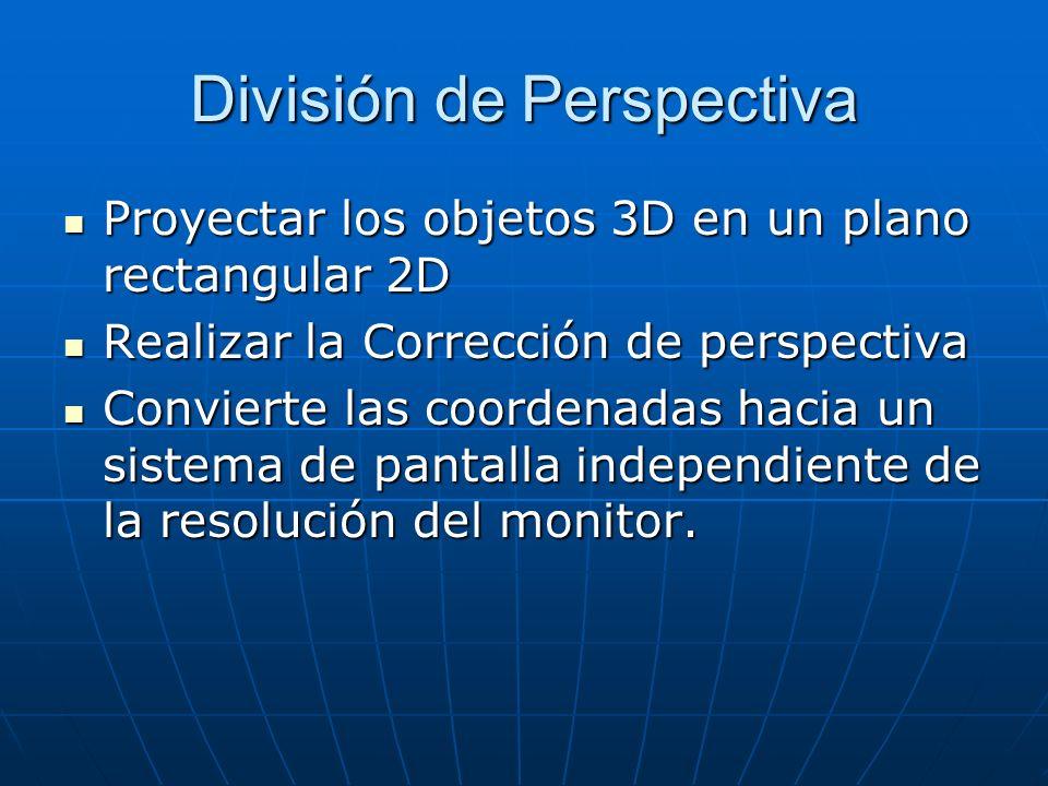 División de Perspectiva