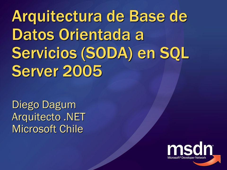 Diego Dagum Arquitecto .NET Microsoft Chile