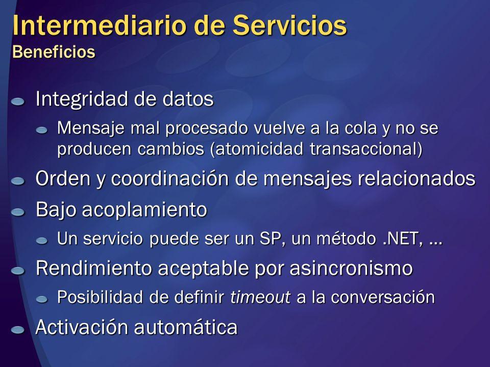 Intermediario de Servicios Beneficios