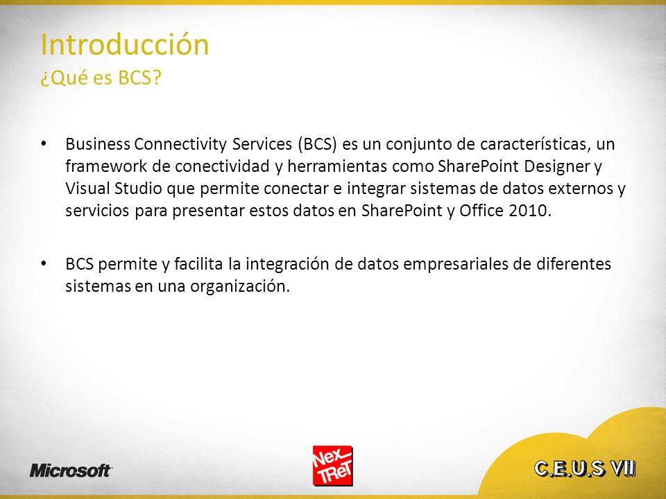 Introducción ¿Qué es BCS