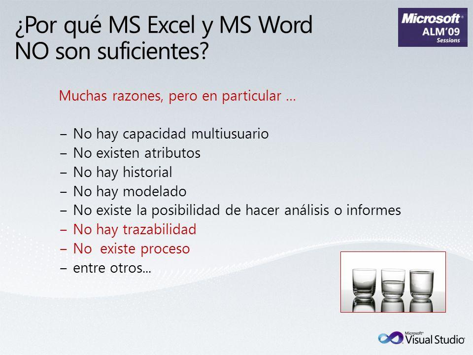 ¿Por qué MS Excel y MS Word NO son suficientes