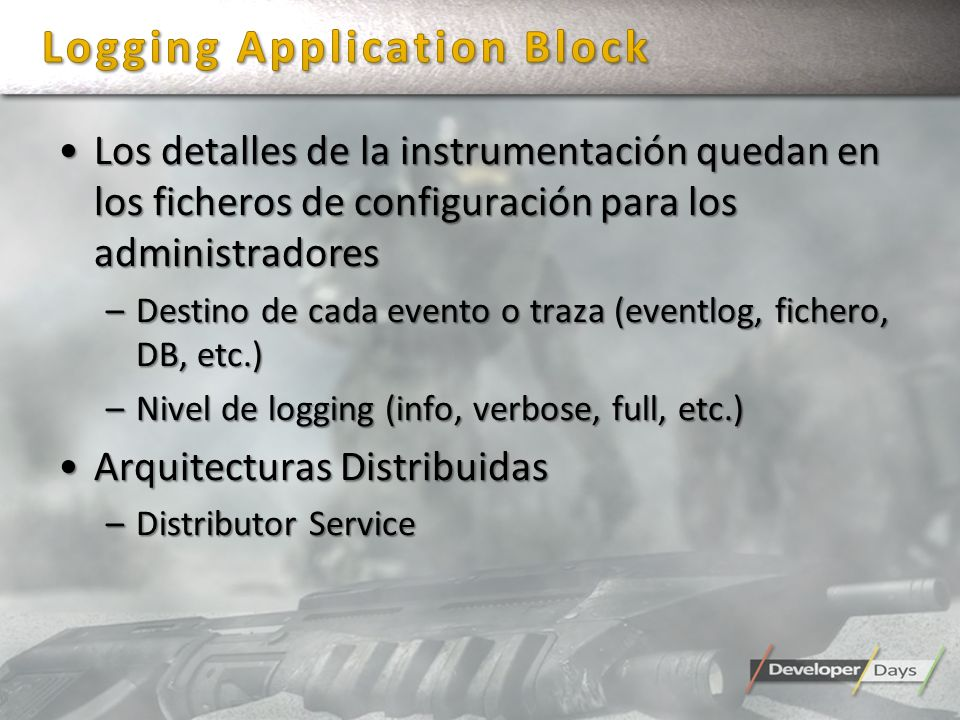 Logging Application Block