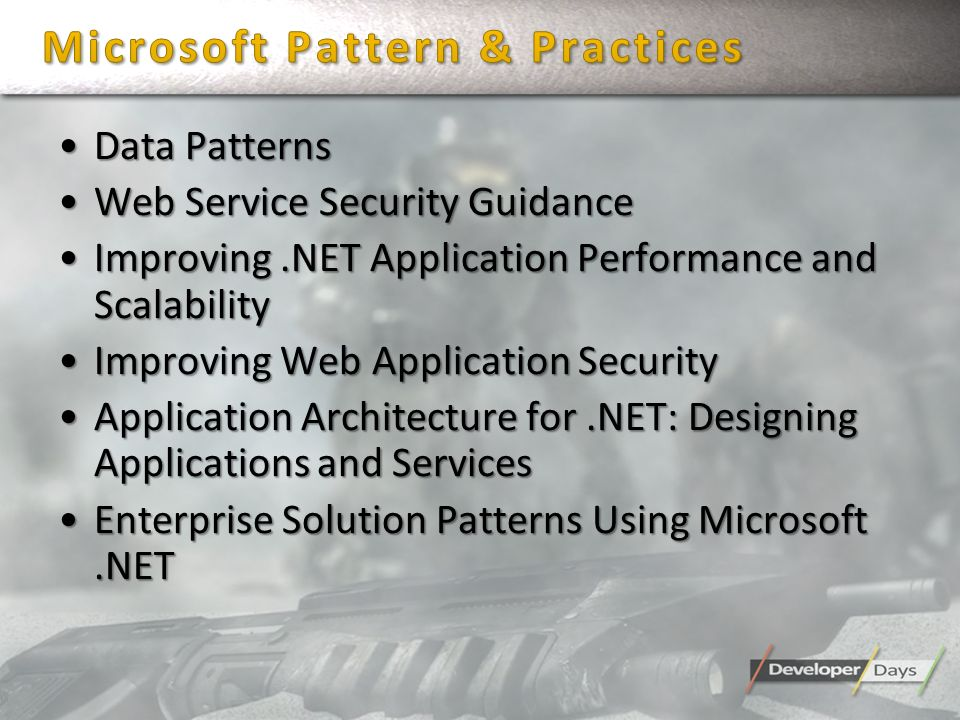 Microsoft Pattern & Practices
