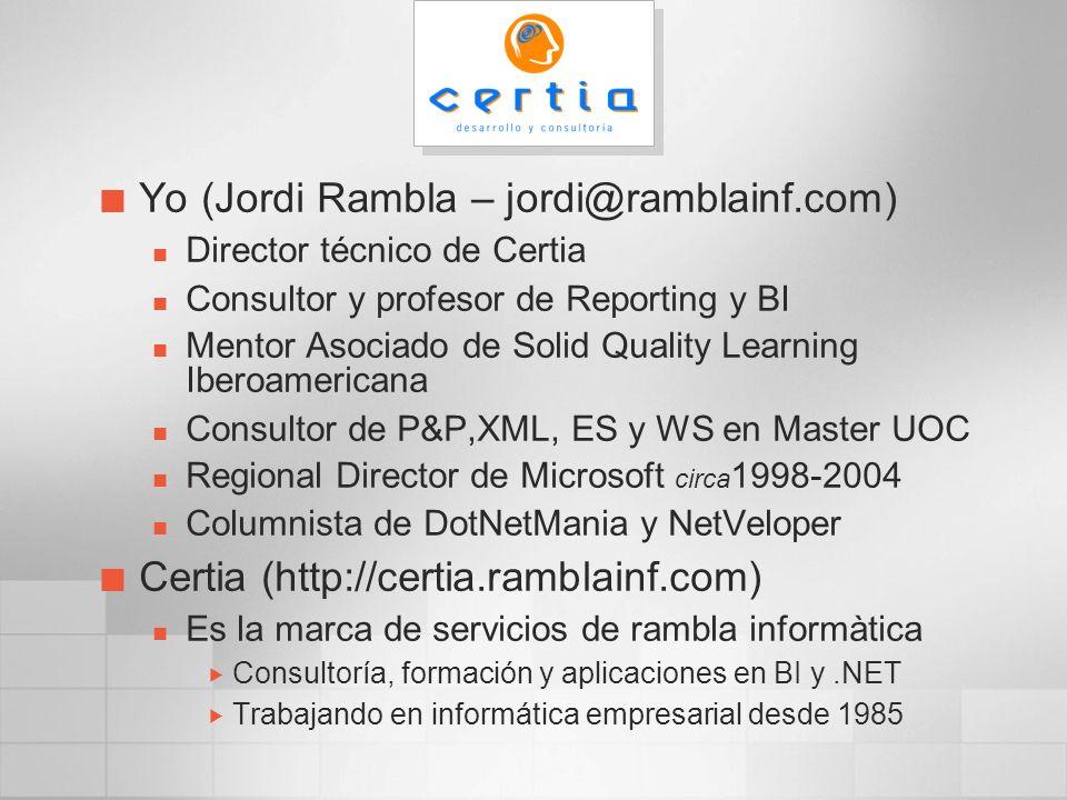 Yo (Jordi Rambla – jordi@ramblainf.com)