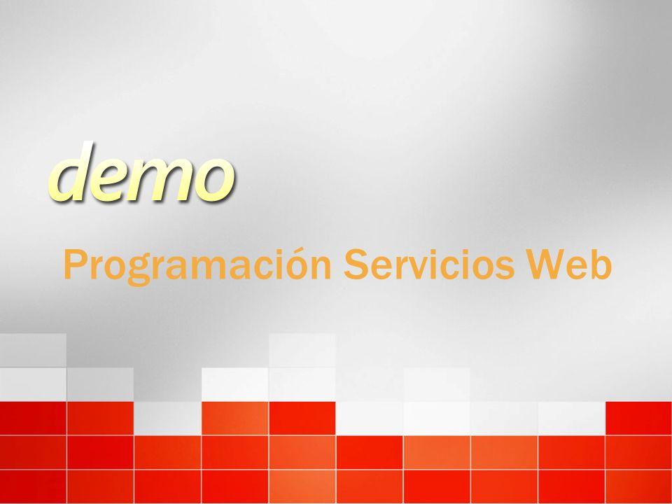 Programación Servicios Web
