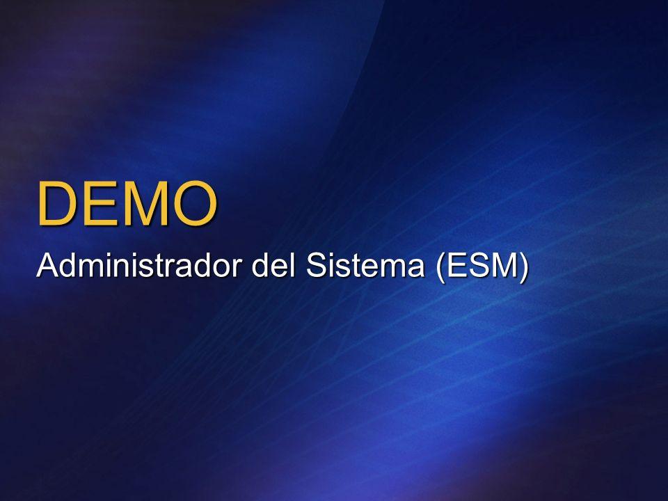 DEMO Administrador del Sistema (ESM)