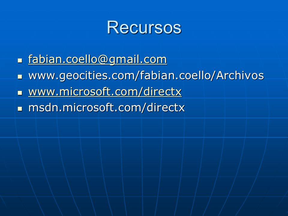 Recursos fabian.coello@gmail.com