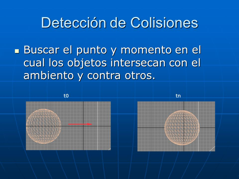 Detección de Colisiones