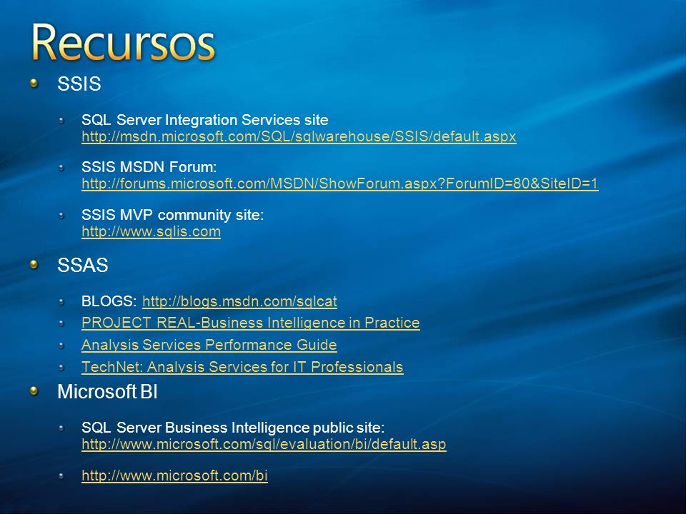 SSIS SQL Server Integration Services site http://msdn.microsoft.com/SQL/sqlwarehouse/SSIS/default.aspx.